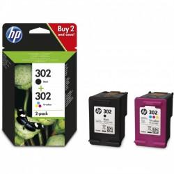 Pack HP 302 Noir + 302 Couleur
