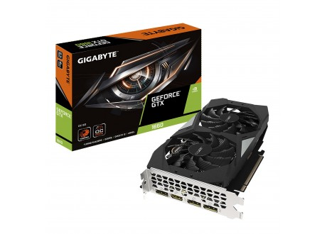 GeForce GTX 1660 OC 6G Gigabyte - Carte graphique