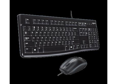 Kit clavier + souris (avec fil) LOGITECH mk120