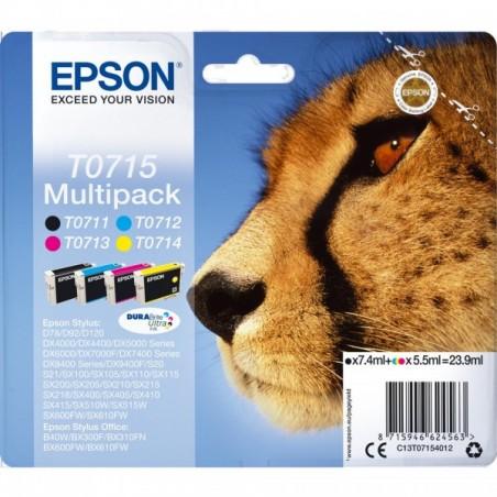 Pack Cartouches Originales Epson T0715