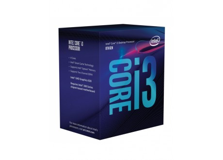 Processeur Intel I3-8100 3.6GHz