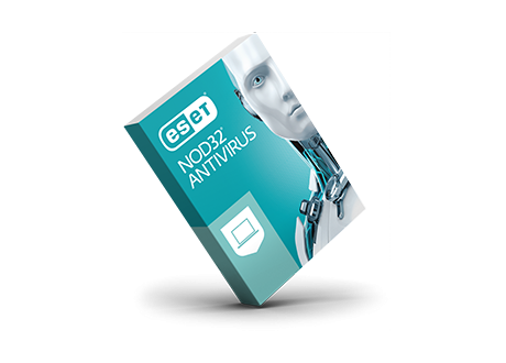 Antivirus eset nod32, version renouvellement 1pc, 1an - clé enregistrement par mail