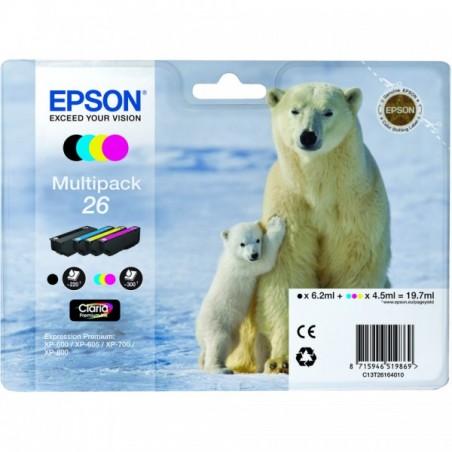 Pack cartouches d'encres originales Epson T2616